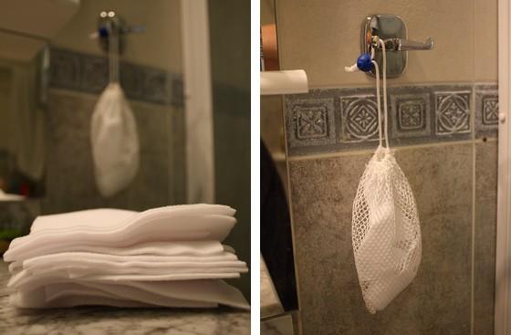 lingettes lavables en micropolaire